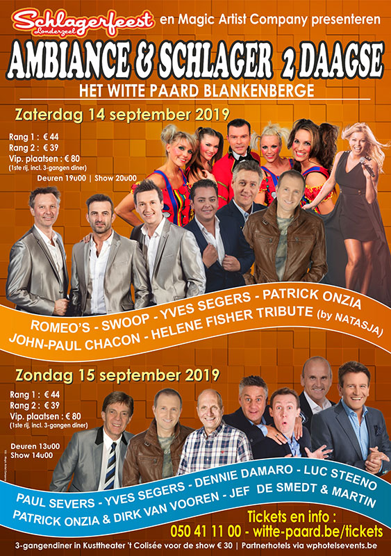 Affiche Ambiance Schlager 2 Daagse final