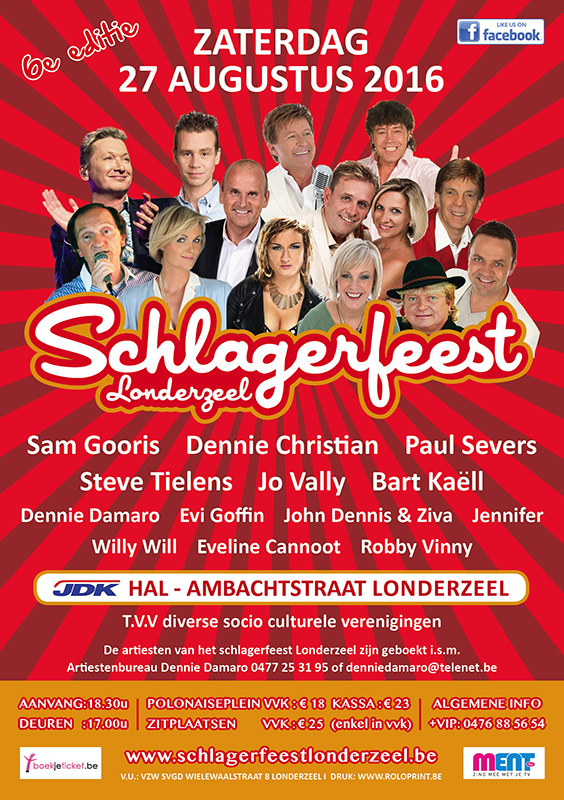 Flyer FB Schlagerfeest rood 2016